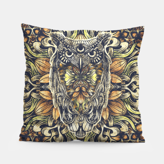 Miniatur Owl Washed Pillow, Live Heroes