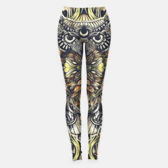 Miniatur Owl Washed Leggings, Live Heroes