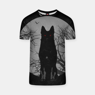 Miniatur Hellhound Vintage Style T-Shirt, Live Heroes