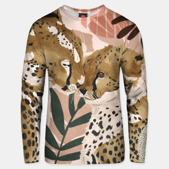 Thumbnail image of Cheetahs in love  Sudadera unisex, Live Heroes