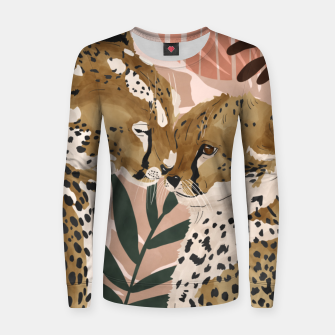 Thumbnail image of Cheetahs in love  Sudadera para mujeres, Live Heroes