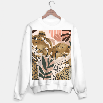 Thumbnail image of Cheetahs in love  Sudadera regular, Live Heroes