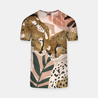 Thumbnail image of Cheetahs in love  Camiseta, Live Heroes