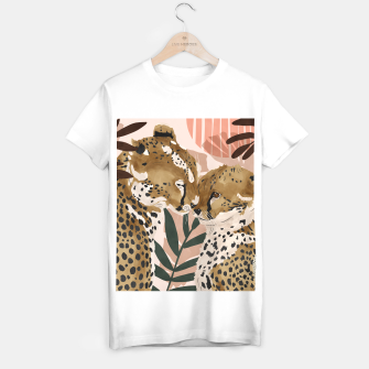 Thumbnail image of Cheetahs in love  Camiseta Regular, Live Heroes