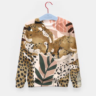 Thumbnail image of Cheetahs in love  Sudadera para niños, Live Heroes