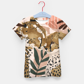 Thumbnail image of Cheetahs in love  Camiseta para niños, Live Heroes