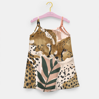Thumbnail image of Cheetahs in love  Vestido para niñas, Live Heroes