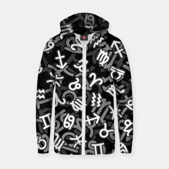 Astrology Zodiac Star Signs Camo Zip up hoodie thumbnail image