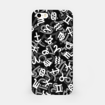 Astrology Zodiac Star Signs Camo iPhone Case thumbnail image