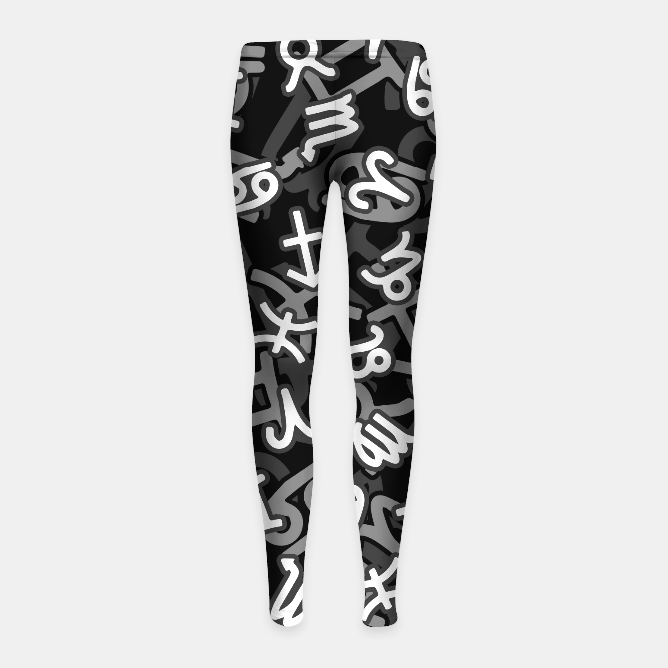 Image of Astrology Zodiac Star Signs Camo Girl's leggings - Live Heroes