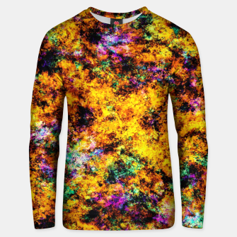 Thumbnail image of Hot yellow Unisex sweater, Live Heroes