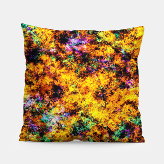 Thumbnail image of Hot yellow Pillow, Live Heroes