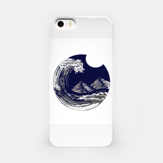 Miniaturka moonlight tide iPhone Case, Live Heroes