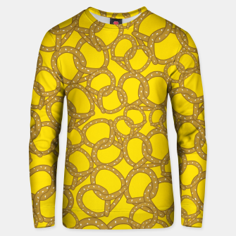 Thumbnail image of Pretzels With Mustard Unisex sweater, Live Heroes