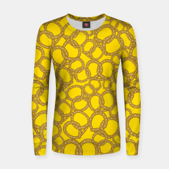 Thumbnail image of Pretzels With Mustard Women sweater, Live Heroes