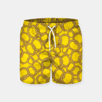 Thumbnail image of Pretzels With Mustard Swim Shorts, Live Heroes