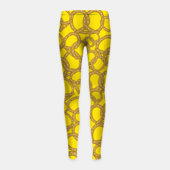 Thumbnail image of Pretzels With Mustard Girl's leggings, Live Heroes