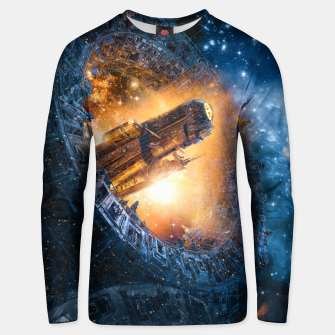 The Voyage Begins Unisex sweater thumbnail image