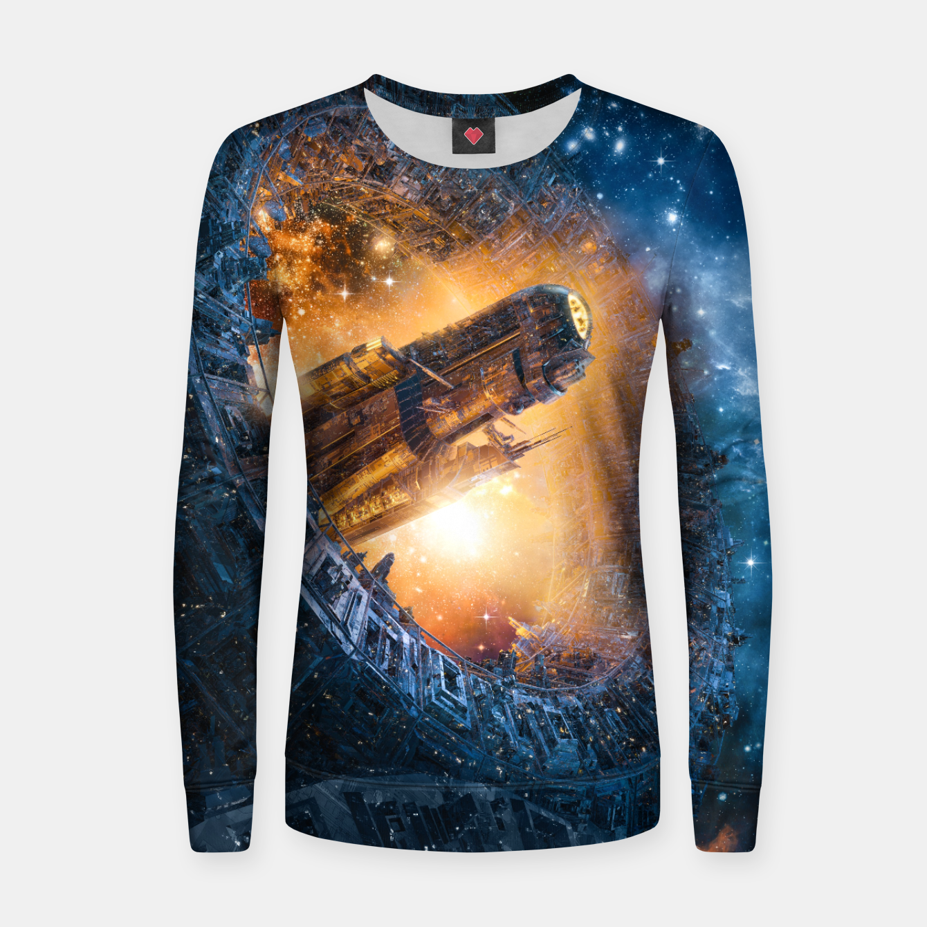Image of The Voyage Begins Women sweater - Live Heroes