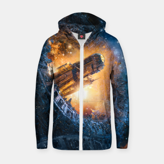 Thumbnail image of The Voyage Begins Zip up hoodie, Live Heroes