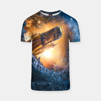 Thumbnail image of The Voyage Begins T-shirt, Live Heroes