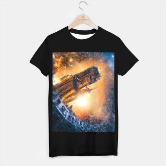 Thumbnail image of The Voyage Begins T-shirt regular, Live Heroes
