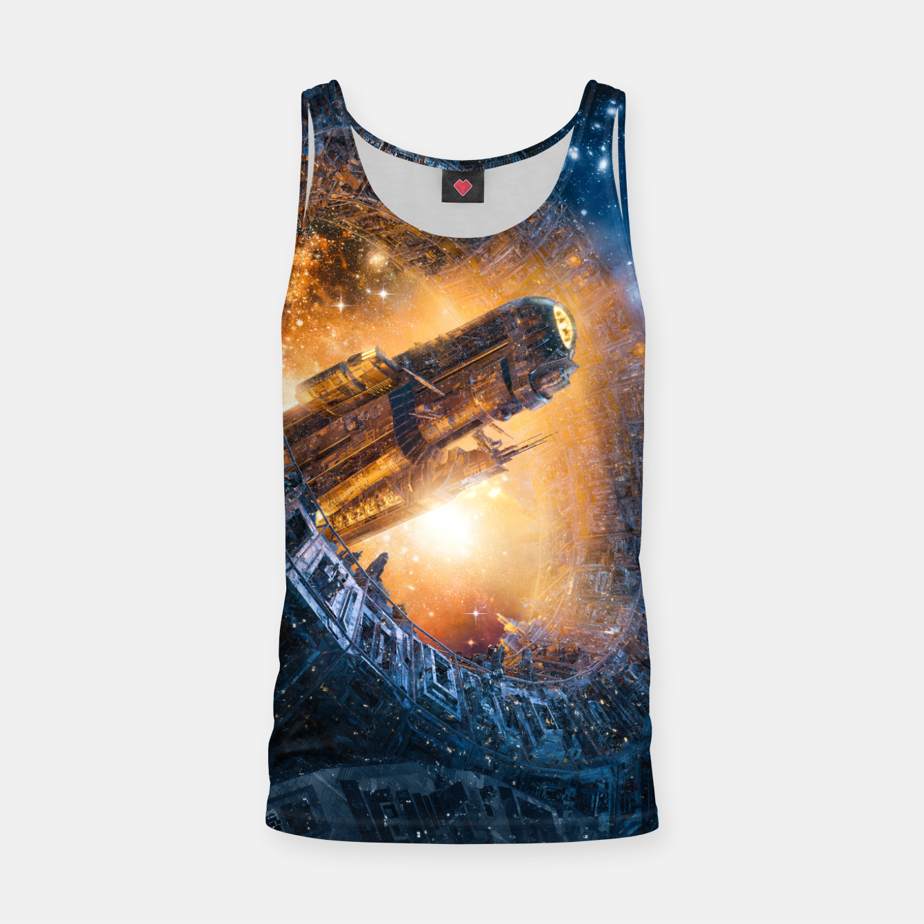 Image of The Voyage Begins Tank Top - Live Heroes