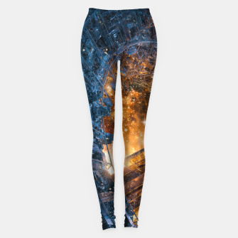 Thumbnail image of The Voyage Begins Leggings, Live Heroes