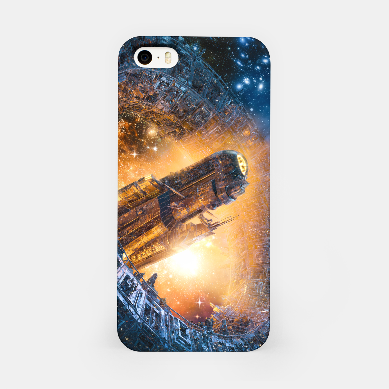 Image of The Voyage Begins iPhone Case - Live Heroes