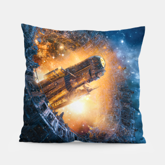 Thumbnail image of The Voyage Begins Pillow, Live Heroes