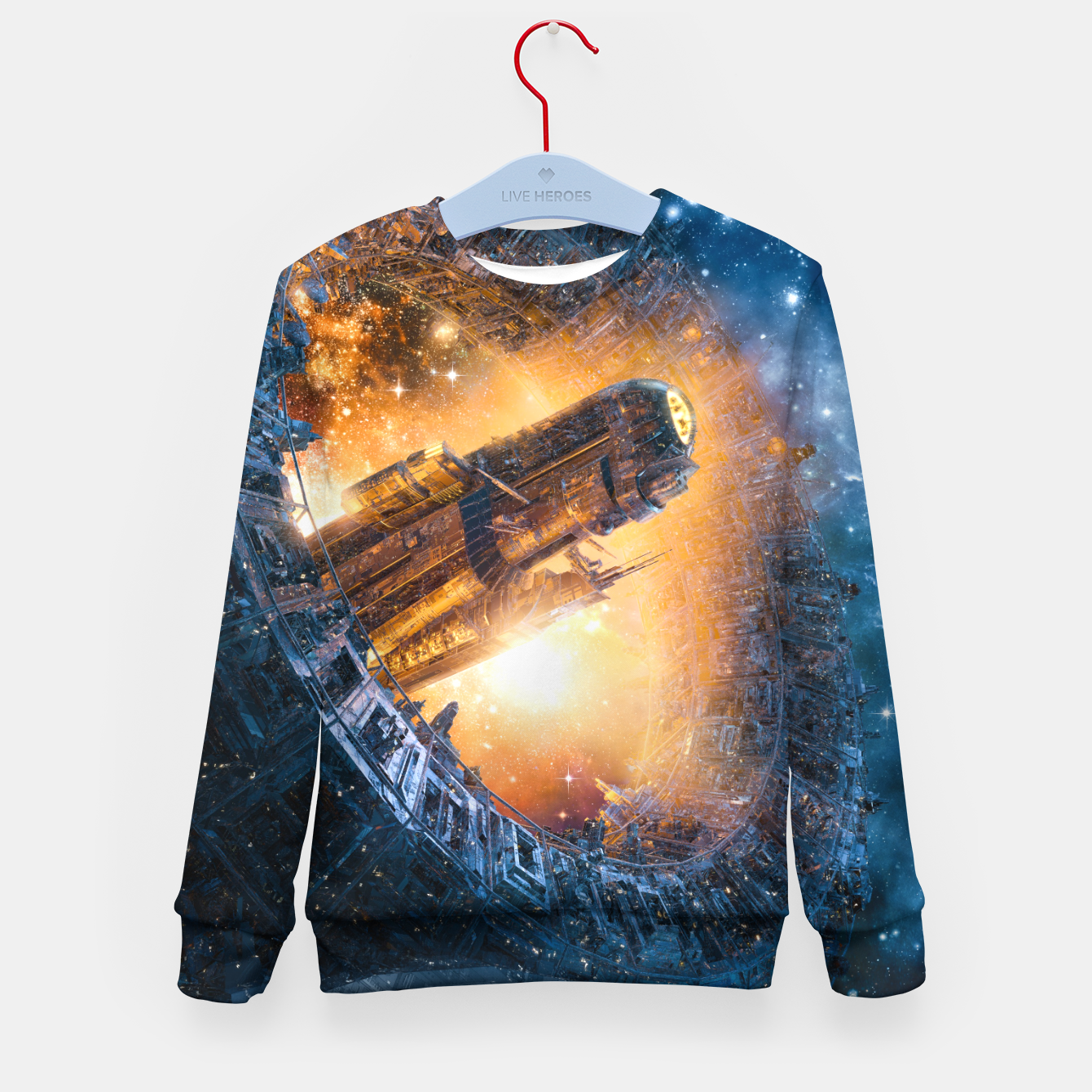Image of The Voyage Begins Kid's sweater - Live Heroes