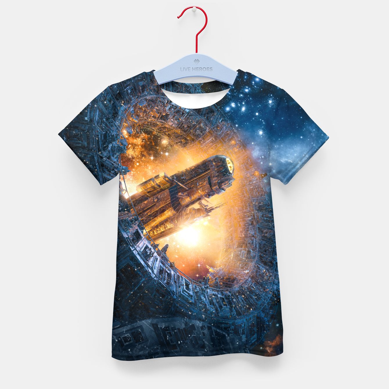 Image of The Voyage Begins Kid's t-shirt - Live Heroes