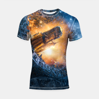 Thumbnail image of The Voyage Begins Shortsleeve rashguard, Live Heroes