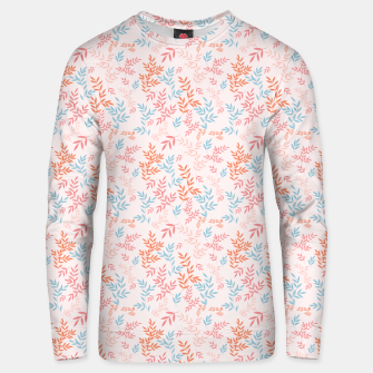 Thumbnail image of Fall Floral Pattern Unisex sweater, Live Heroes