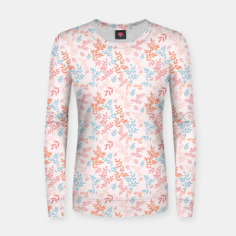 Thumbnail image of Fall Floral Pattern Women sweater, Live Heroes