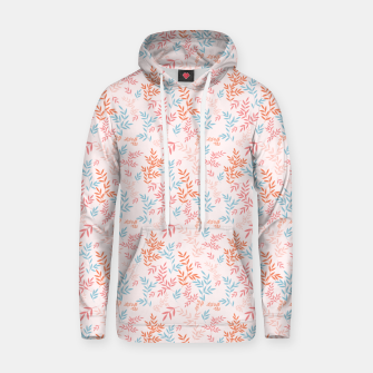 Thumbnail image of Fall Floral Pattern Hoodie, Live Heroes