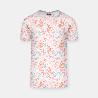 Thumbnail image of Fall Floral Pattern T-shirt, Live Heroes