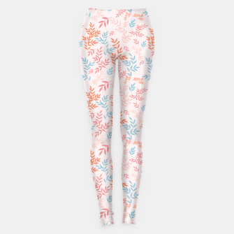 Thumbnail image of Fall Floral Pattern Leggings, Live Heroes