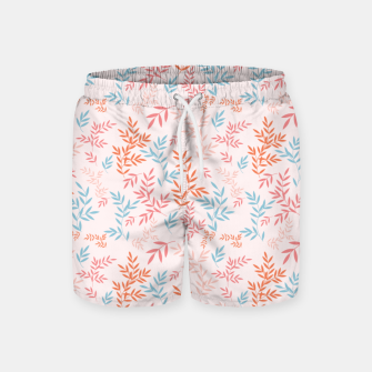 Thumbnail image of Fall Floral Pattern Swim Shorts, Live Heroes