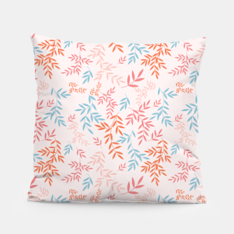Thumbnail image of Fall Floral Pattern Pillow, Live Heroes