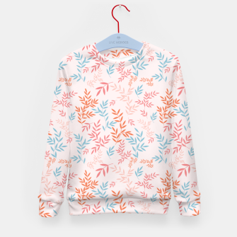 Thumbnail image of Fall Floral Pattern Kid's sweater, Live Heroes