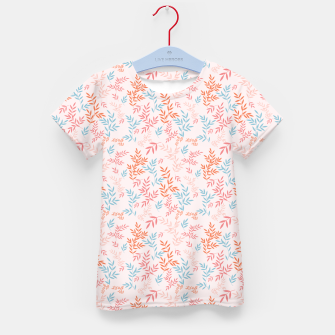 Thumbnail image of Fall Floral Pattern Kid's t-shirt, Live Heroes