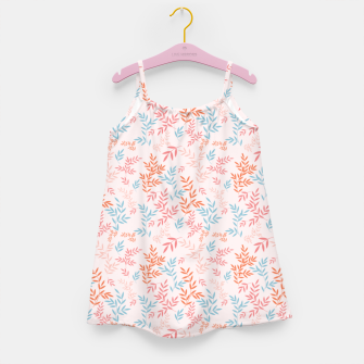 Thumbnail image of Fall Floral Pattern Girl's dress, Live Heroes