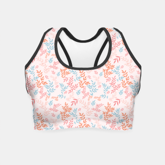 Thumbnail image of Fall Floral Pattern Crop Top, Live Heroes