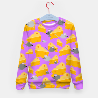 Miniature de image de Mice And Cheese Kid's sweater, Live Heroes