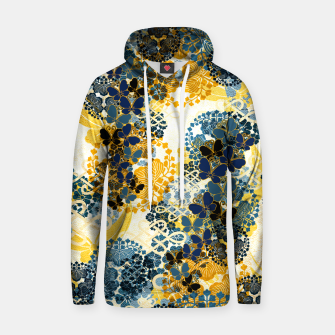 Miniatur Japanese Kimono pattern design flower and Butterfly Hoodie, Live Heroes