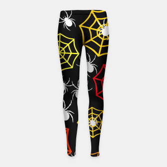 Miniature de image de Creepy Crawlers Girl's leggings, Live Heroes