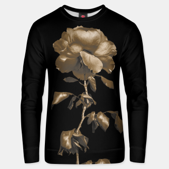 Thumbnail image of Beauty Dark Rose Poster Unisex sweater, Live Heroes