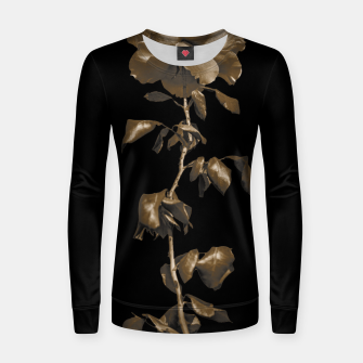 Thumbnail image of Beauty Dark Rose Poster Women sweater, Live Heroes