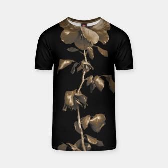 Thumbnail image of Beauty Dark Rose Poster T-shirt, Live Heroes